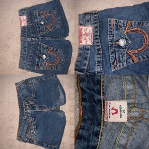 True religion shorts